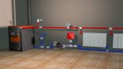 Однотрубная и двухтрубная система водяного отопления дома