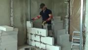 Особенности кладки стен из пеноблока. Преимущества и недостатки