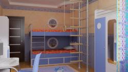 Как обустроить детскую комнату для мальчика