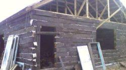 Строим дом из шпал