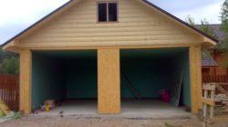 О том, как построить гараж самому