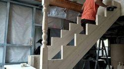 Самостоятельное изготовление лестницы из дерева