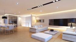 Натяжные потолки в современном доме