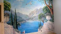 Художественная роспись стен в различных помещениях