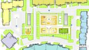 Гибкая планировочная схема здания