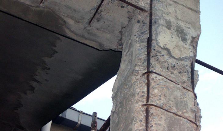 Повреждения строительных конструкций