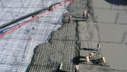 Совместная работа железобетонной плиты перекрытия