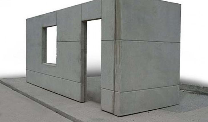Стеновые бетонные панели