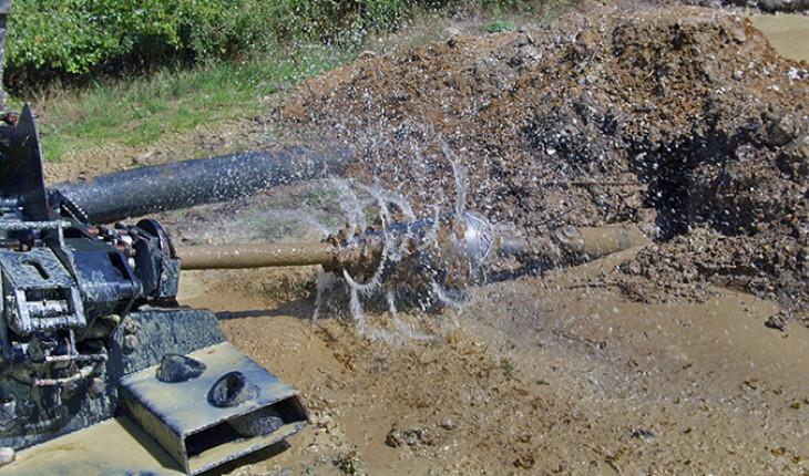 Строительство трубопроводов с использованием метода наклонно-направленного бурения