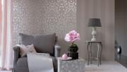 Серые обои для стен в разных стилях интерьера квартиры