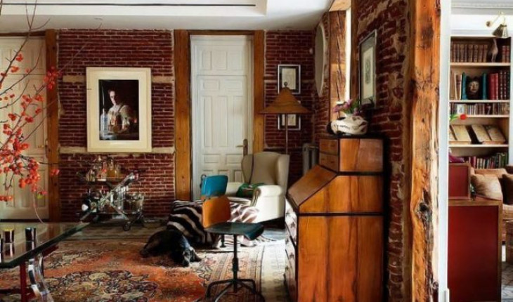 Винтажный стиль интерьера в квартире