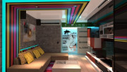 Стиль поп-арт в интерьере квартиры
