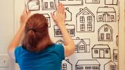 Декорируем межкомнатную дверь своими руками