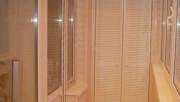 Фото отделки лоджий и балконов внутри