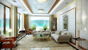 Интерьер квартиры в греческом стиле