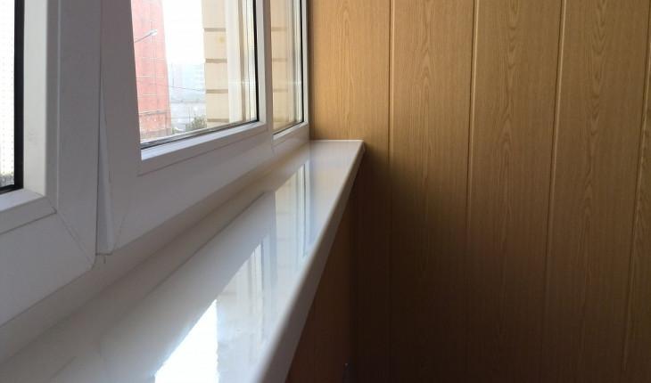 Как самому установить подоконник на лоджии или балконе