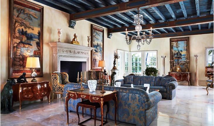 Венецианский стиль в домашнем интерьере квартиры и дома