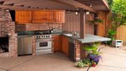 Строим летнюю кухню на даче или садовом участке