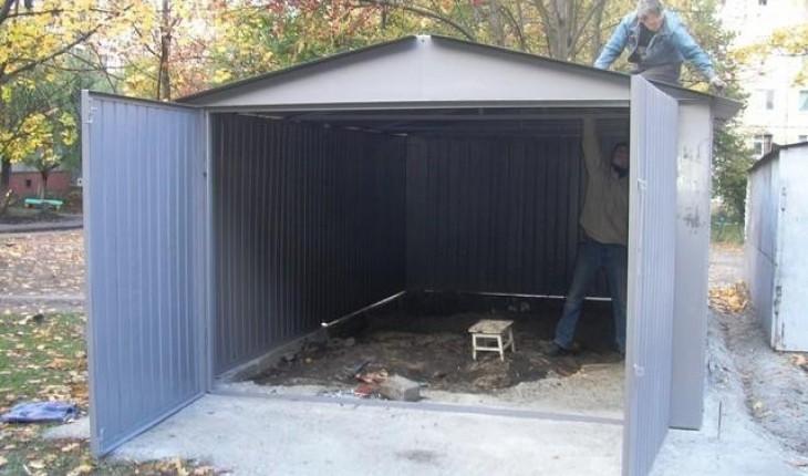 Строим железный гараж