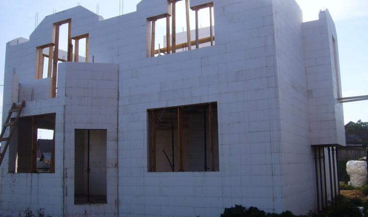 Строим дом из несъемной опалубки