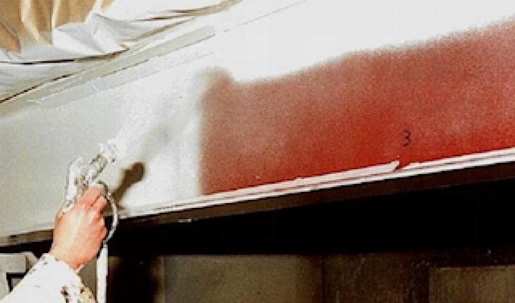 Использование огнезащитной краски