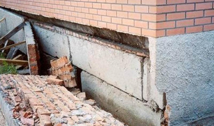 Еще раз о ремонте фундамента