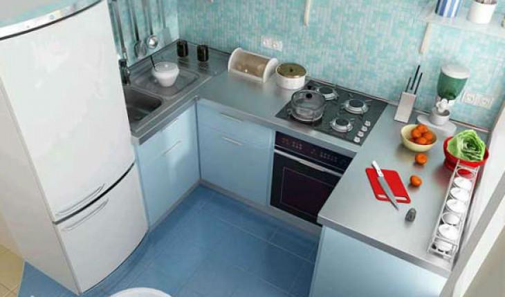 Об обустройстве маленькой кухни