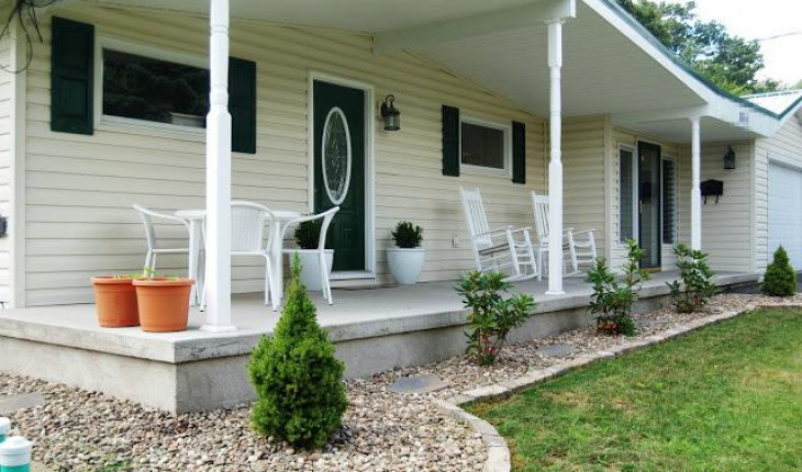 Обустройство прилегающей территории дома