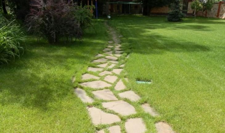 Технология укладки дорожек в саду