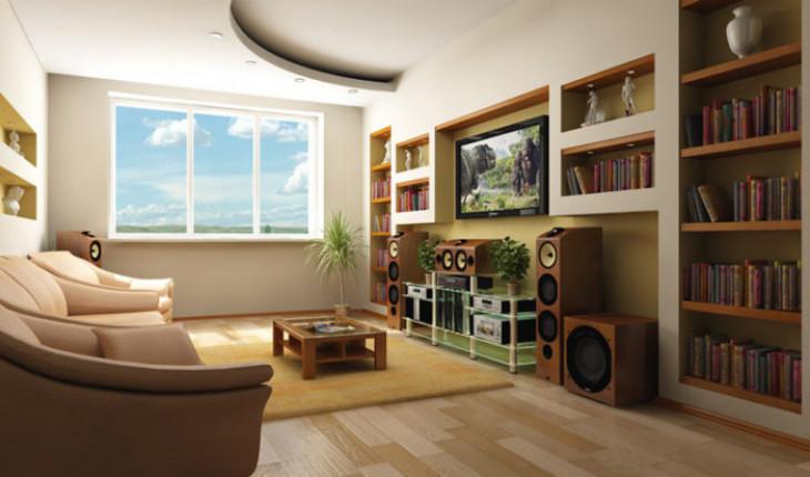Создание дизайна интерьера помещений квартиры