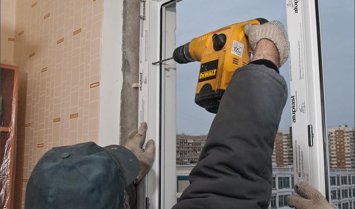 Как правильно устанавливаются деревянные окна