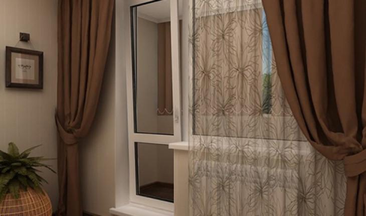Оформляем балконную дверь