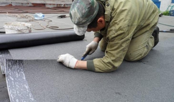 О ремонте мягкой гаражной кровли