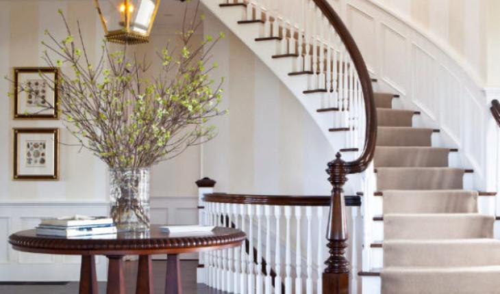 О способах оформления лестницы в доме
