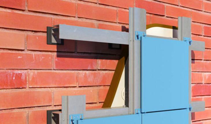 Монтируем вентилируемый фасад