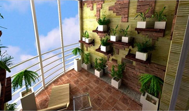 Создаем зимний сад на балконе
