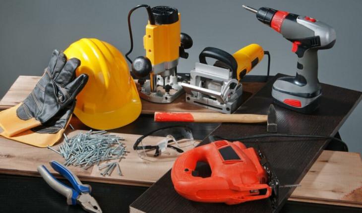 Инструменты, нужные для ремонта