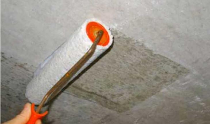 Как самому покрасить бетонные поверхности