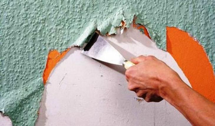 Советы по ремонту. Как быстро снять со стен обои