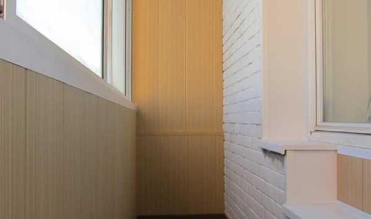Статья о внутренней отделке балкона