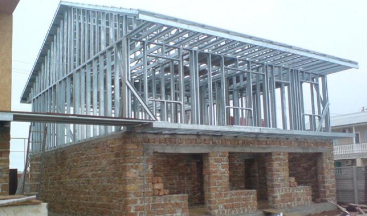 О применении металлоконструкций при строительстве загородного дома