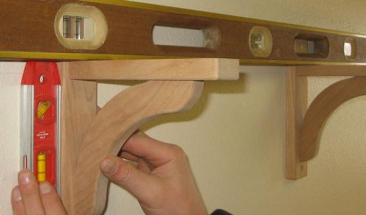 Работа с гипсокартоном Как повесить полку на гипсокартон