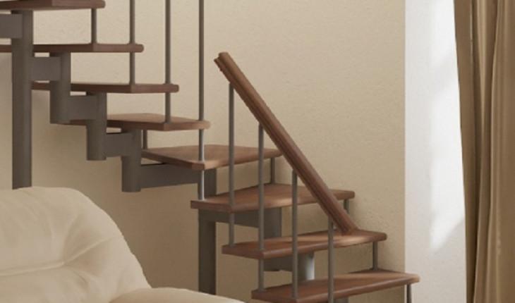 Как выбрать лестницу для двухуровневого помещения
