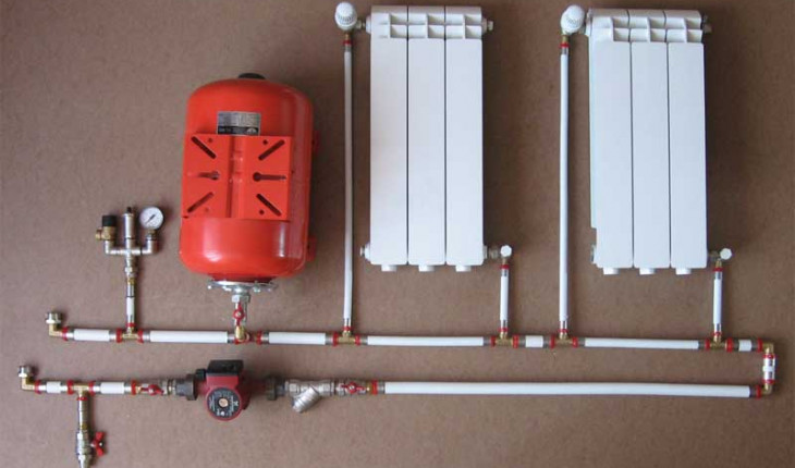 Как провести водяное отопление самому