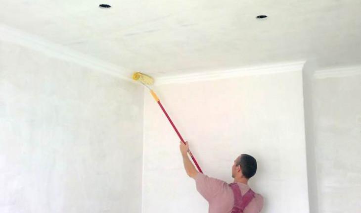 Советы по побелке потолка