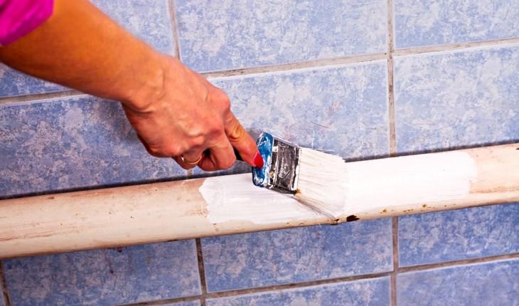 Если вы решили покрасить водопроводные трубы