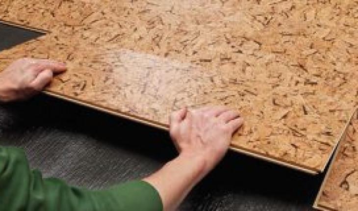 О простой технологии укладки пробкового покрытия