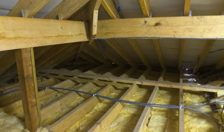 Способы утепления крыши бани