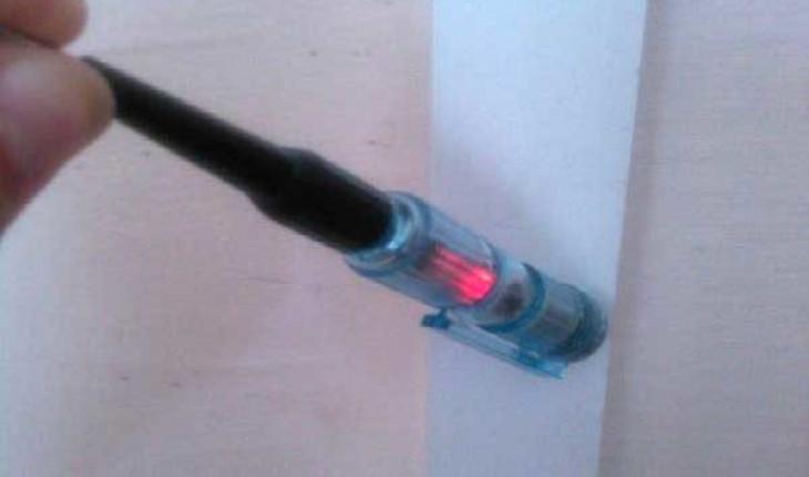 Как найти электропроводку в стене