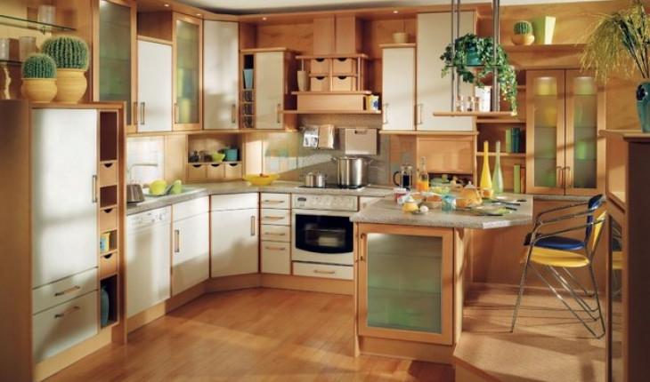 Оформление кухни в новом доме